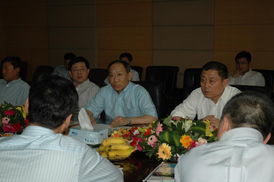 山东省邮电规划设计院---中国联通集团公司领导莅临